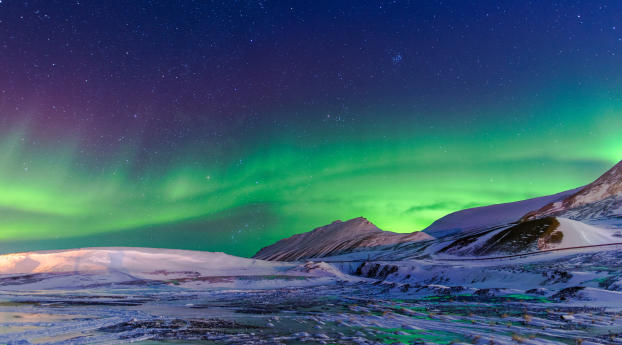 HD Wallpaper | Background Image 5K Aurora Borealis