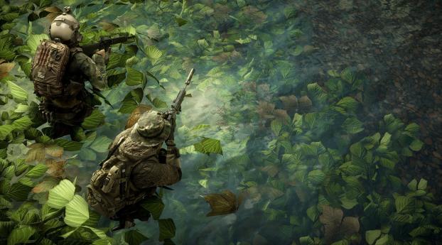 5K New Battlefield 4 Wallpaper
