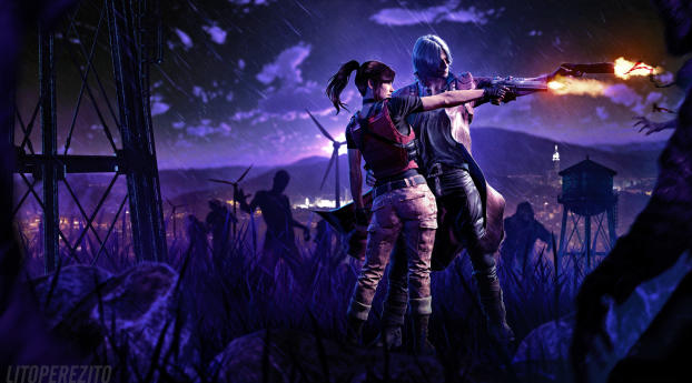HD Wallpaper | Background Image 5K Resident Evil Devil May Cry 5