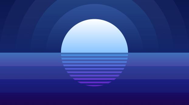 HD Wallpaper | Background Image 5k Summer Time Night