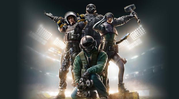 5k Tom Clancys Rainbow Six Siege Poster Wallpaper