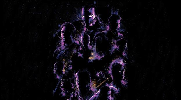 HD Wallpaper | Background Image 8K Avengers Endgame Artwork