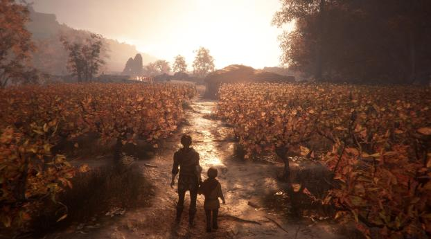 HD Wallpaper | Background Image A Plague Tale Innocence 4K