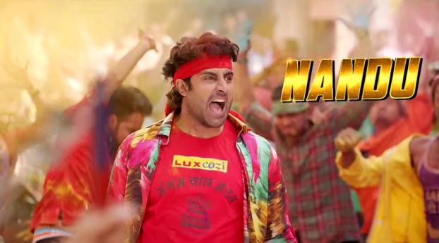 HD Wallpaper | Background Image Abhishek As Nandu In Happy New Year 2014 Wallpaper