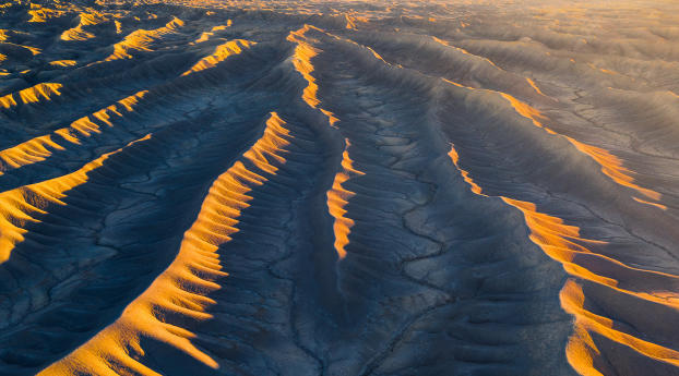 Aerial View From Utah Desert Wallpaper in 1440x900 Resolution