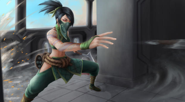 HD Wallpaper | Background Image Akali from League Of Legends