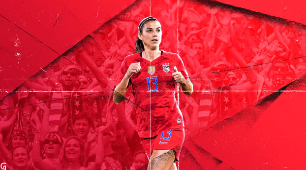 HD Wallpaper | Background Image Alex Morgan 2019