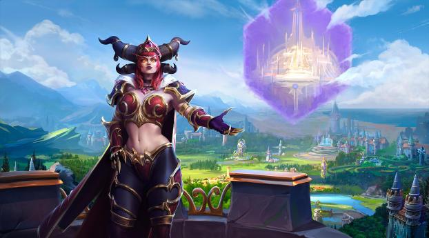 HD Wallpaper | Background Image Alexstrasza World Of Warcraft