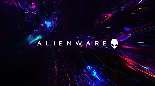 Alienware 4k  Logo Wallpaper