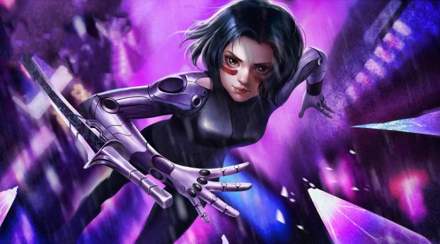 HD Wallpaper | Background Image Alita Cyborg Battle Angel