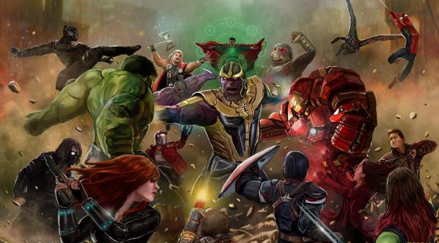 Infinity War-Avengers