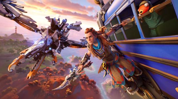 Aloy HD Fortnite Wallpaper 1080x2160 Resolution