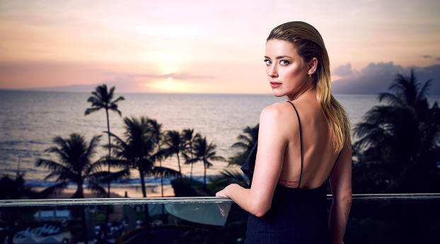 HD Wallpaper | Background Image Amber Heard 2019