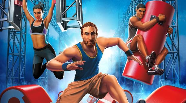 HD Wallpaper | Background Image American Ninja Warrior Challenge Game