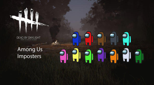 1440x2960 Among Us Imposters X Dead By Daylight Samsung Galaxy Note 9 8 S9 S8 S8 Qhd Wallpaper Hd Games 4k Wallpapers Images Photos And Background