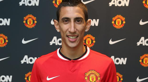 Download Angel Di Maria Paris Saint Germain Football Player