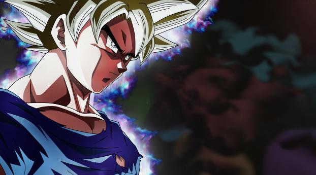 2048x2048 Angry Goku Dragon Ball Super Ipad Air Wallpaper