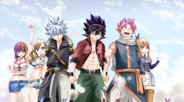 HD Wallpaper | Background Image Anime All Heros Crossover