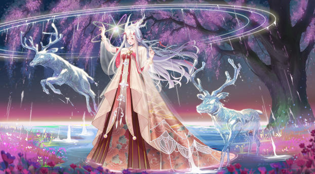 HD Wallpaper | Background Image Anime Angel Girl