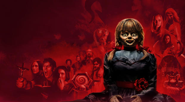 Annabelle Comes Home Wallpaper 2880x1800 Resolution