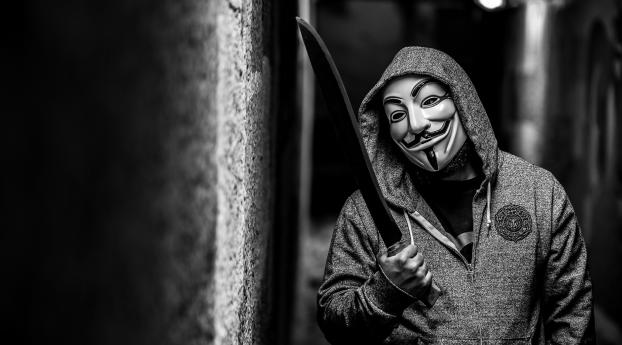 HD Wallpaper | Background Image anonymous, guy fawkes mask, mask