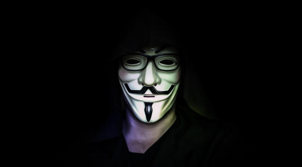 HD Wallpaper | Background Image Anonymous Mask Student