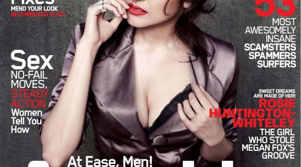 HD Wallpaper   Background Image Anushka Sharma In Maxim Magazine
