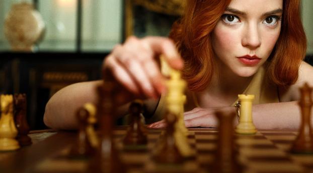 Anya Taylor-Joy The Queens Gambit Wallpaper