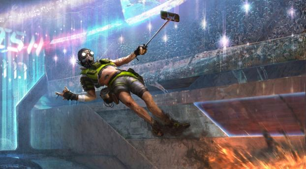 HD Wallpaper | Background Image Apex Legends Mobile Art