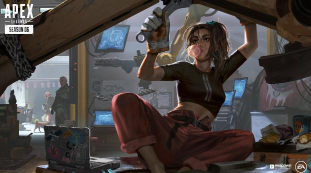Apex Legends Season 6 Wallpaper 2048x1152 Resolution