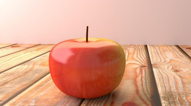 apple, fruit, surface Wallpaper