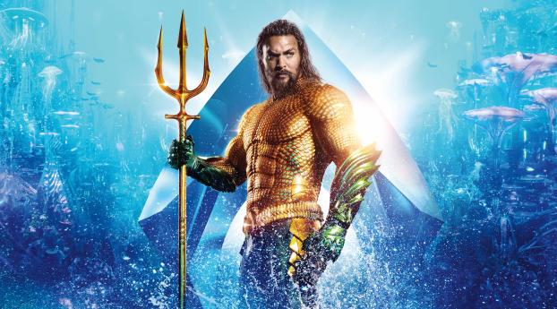 Aquaman 2018 Movie 4k Wallpapers: Download Aquaman 2018 Movie 12k Poster 7680x4320