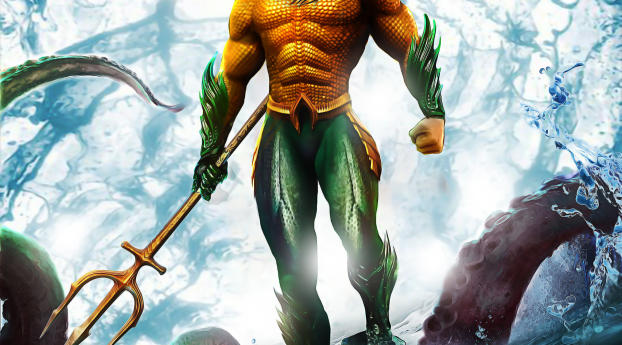 HD Wallpaper | Background Image Aquaman Jason Momoa Artwork