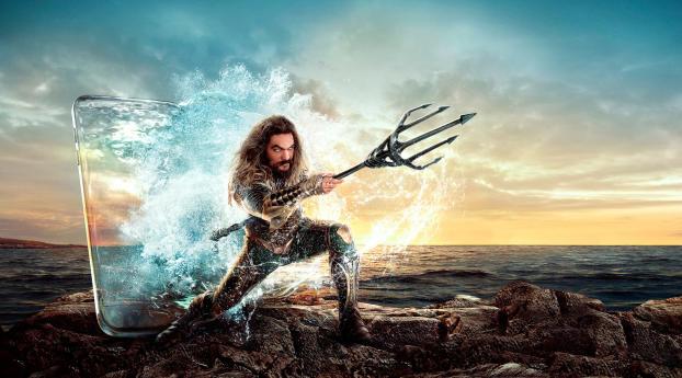 HD Wallpaper   Background Image Aquaman Jason Momoa