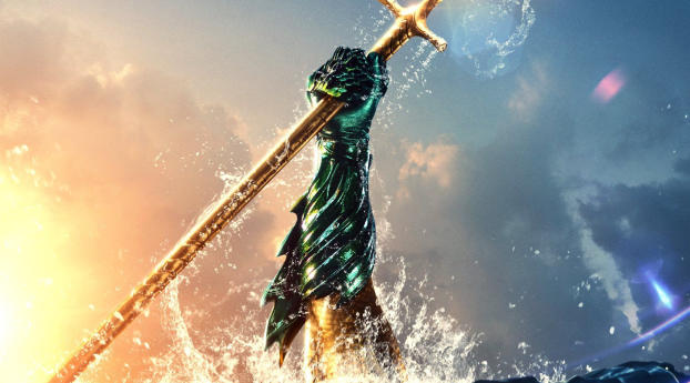 HD Wallpaper | Background Image Aquaman Movie Brand New Poster