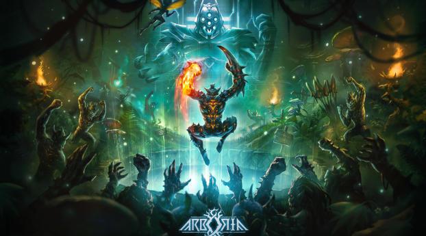 Arboria Gaming Poster Wallpaper
