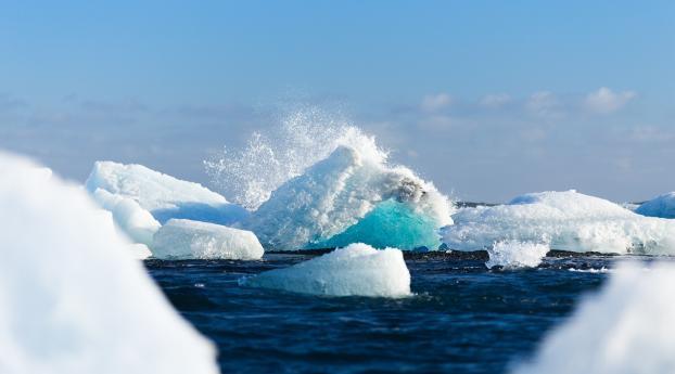 arctic, ice, iceberg Wallpaper 1920x1080 Resolution