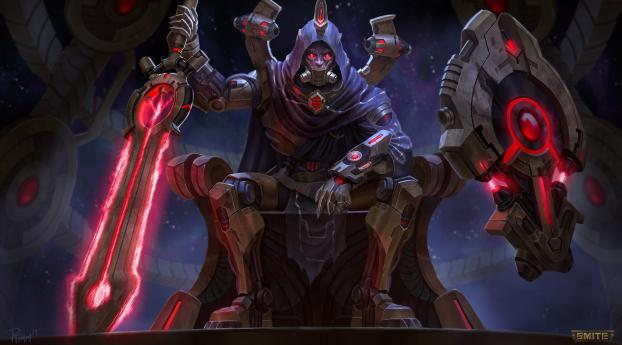 Ares From Smite Wallpaper