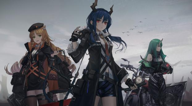 HD Wallpaper | Background Image Arknights Girl Characters