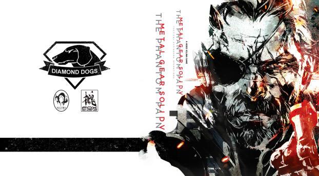 Art Metal Gear Solid 5 Wallpaper 2560x1440 Resolution