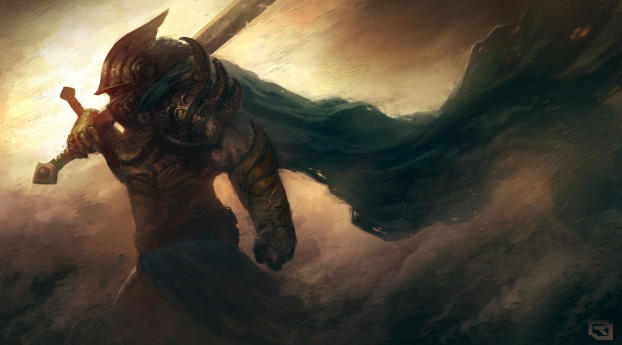art, warrior, armor Wallpaper in 540x960 Resolution