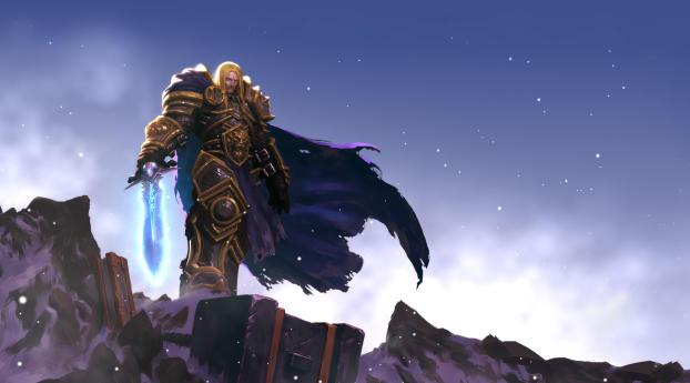 HD Wallpaper | Background Image Arthas Menethil World Of Warcraft Game