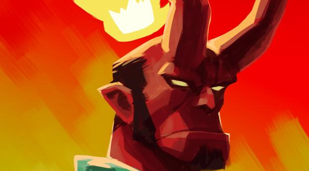 HD Wallpaper | Background Image Artistic Hellboy
