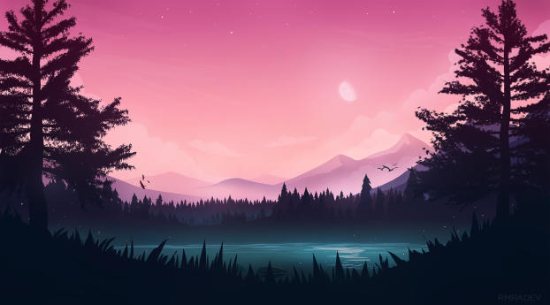 Artistic Landscape View Wallpaper Hd Artist 4k Wallpapers Images Photos And Background