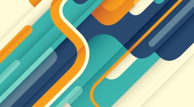 HD Wallpaper | Background Image Artistic Shapes Design