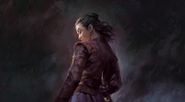 1280x1024 Arya Stark Dagger Game Of Thrones 1280x1024