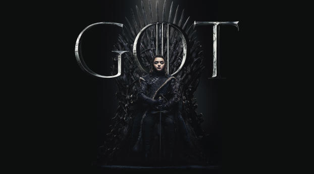 HD Wallpaper | Background Image Arya Stark Game Of Thrones Season 8 Poster
