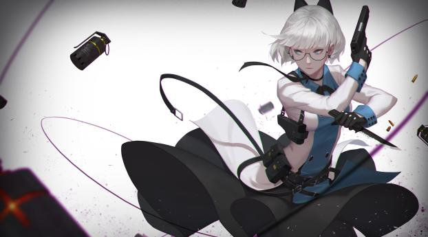 HD Wallpaper | Background Image Assassin Anime Girl