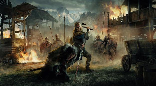 Assassin's Creed Valhalla Eivor Wallpaper