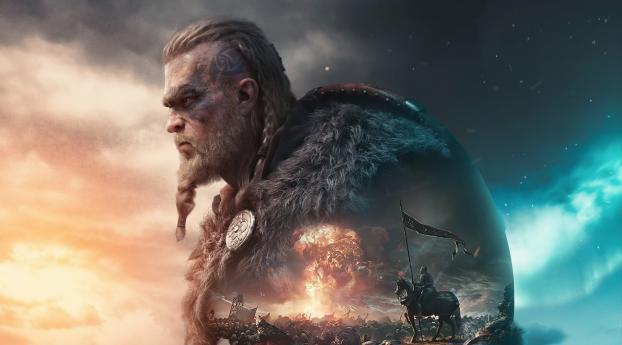 HD Wallpaper | Background Image Assassin's Creed Valhalla Viking Artstation